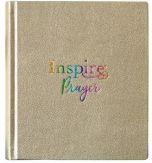 NLT Inspire PRAYER/Journaling Bible LtrLike-Met.Gold