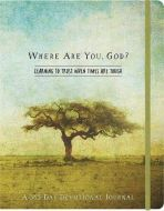 Journal with Devotions-Where Are You, God? Flex