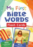 My First Bible Words Flash Cards, Ages 3-5