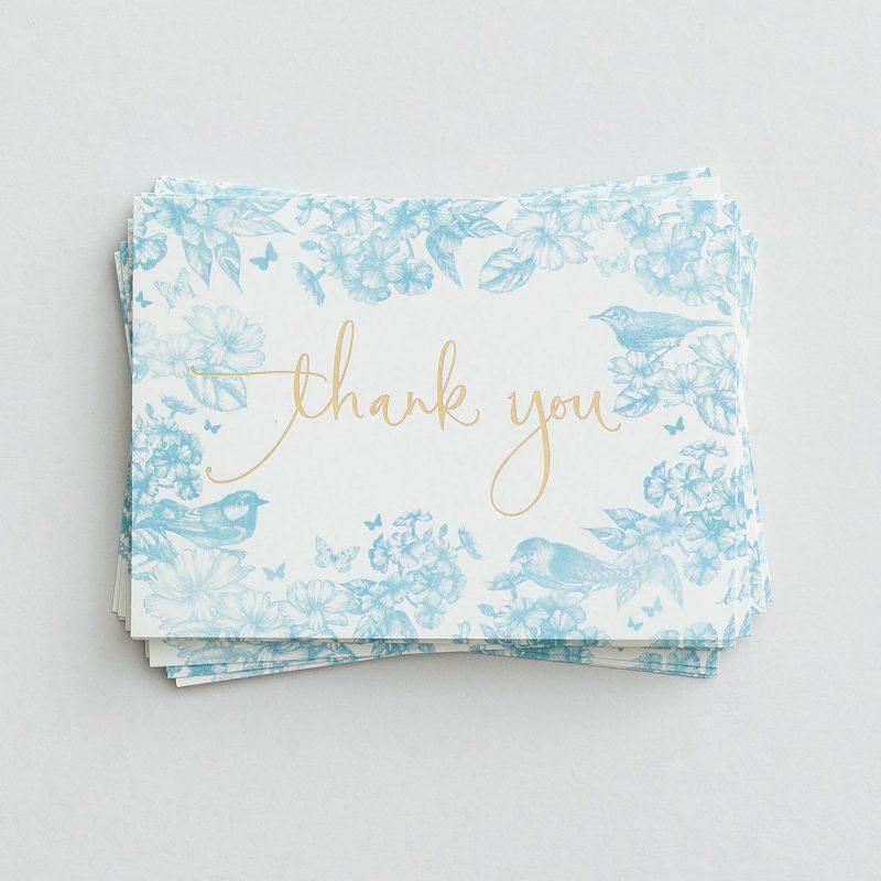 Thank You Notes-Home Spun Charm (77844)