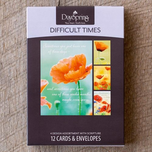 Boxed Cards-Difficult Times, Strong (45019)