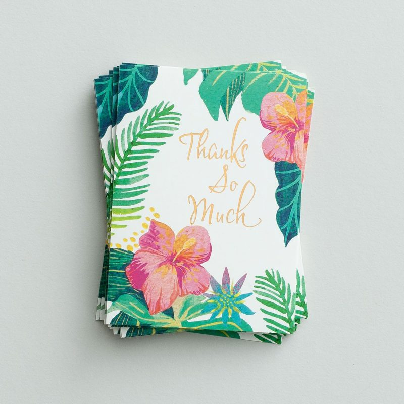 Thank You Notes-Tropical, Genesis 30:27 (18519)