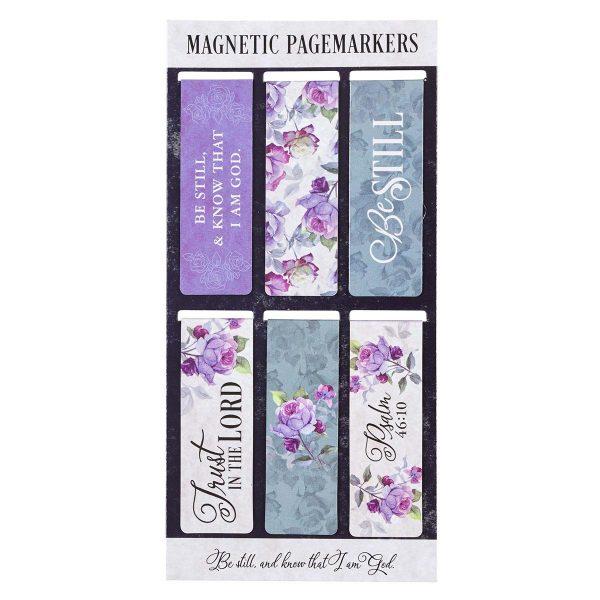 Be Still, Magnetic Bookmark Set
