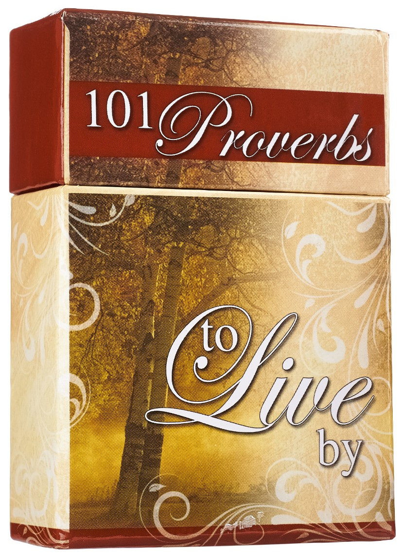 Box of Blessings: 101 Proverbs to Live by Cards