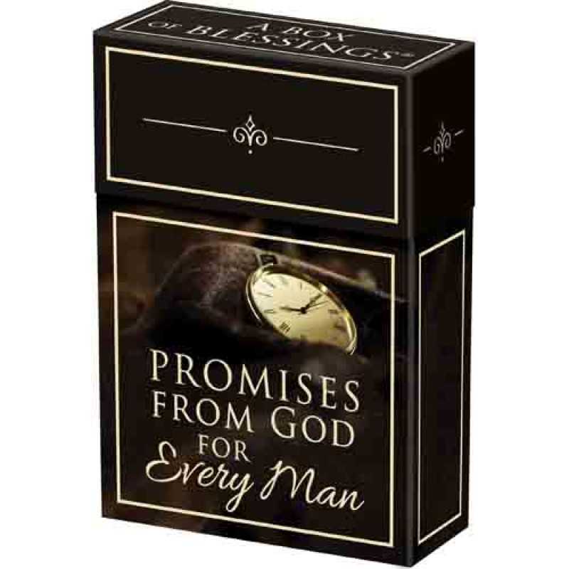 Promises from God for Every Man: A Box of Blessings