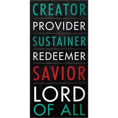 Plaque: Creator, Provider, Sustainer