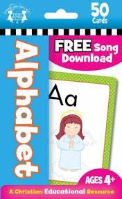 Alphabet Christian-50 Count Flash Card