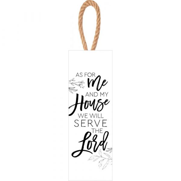 As For Me And My House, String Sign