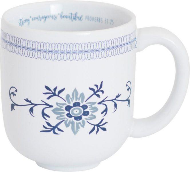 Strong Courageous Beautiful, Ceramic Mug