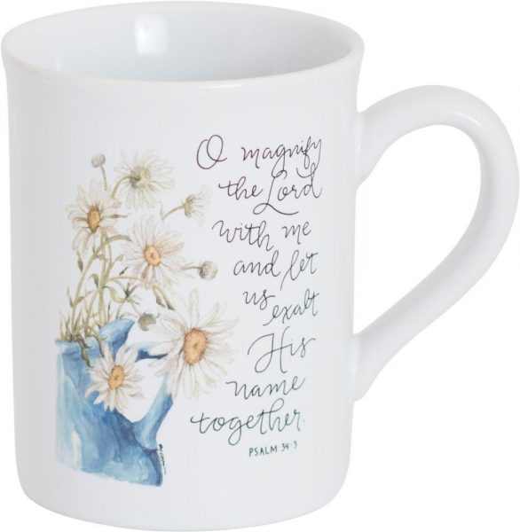 Magnify the Lord, Ceramic Mug