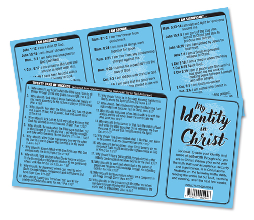 My Identity in Christ (min. 20)