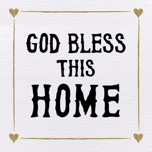 Tabletop Plaque-Bless This Home