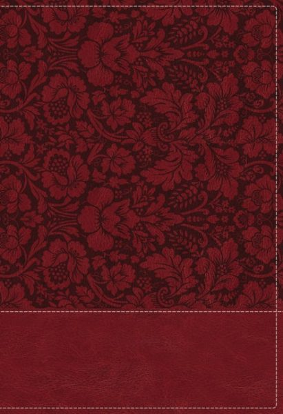 NKJV Wiersbe Study Bible, Leathersoft, Burgundy, Thumb Indexed, Red Letter, Comfort Print