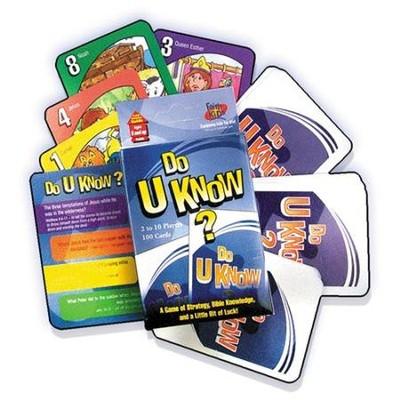 Do U Know Card Game