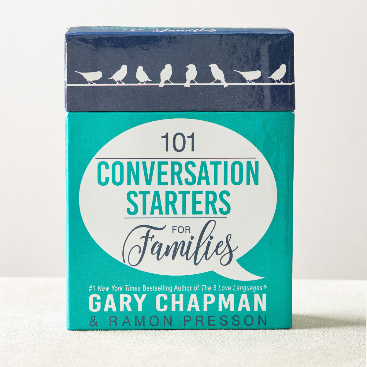 101 Conversation Starters For Families at Cru Media Ministry in Singapore