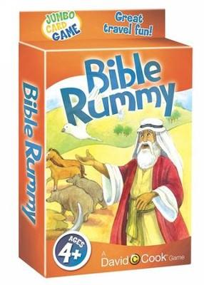 Jumbo Card Games : Bible Rummy