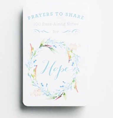Prayers to Share:100 P/Along Note, HOPE 70131