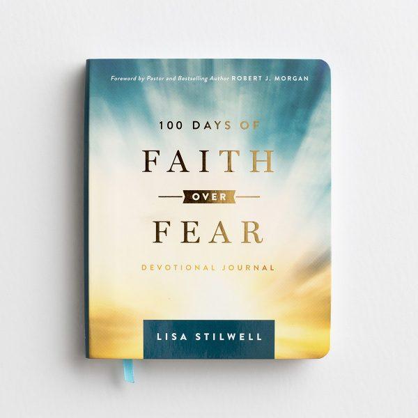 100 Days of Faith Over Fear, Devotional Journal