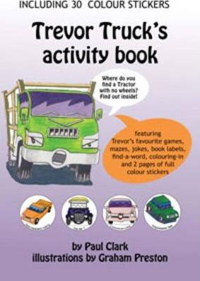 Trevor Truck's Activity Book