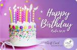 E-Gift Card - Happy Birthday