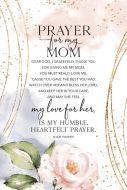 Framed/Heaven-Prayer for My Mom 5606