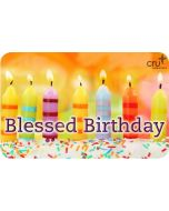 Gift Card - Blessed Birthday