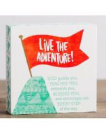 Plaque (Mini)-Live The Adventure