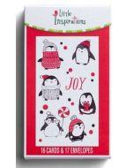 Boxed Cards-Christmas Joy Penguins J3370