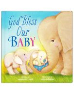 God Bless Our Baby Boardbook
