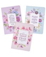 Notebook Set/3-Floral Inspiration, Medium, NBS023