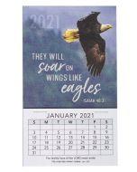 Mini Magnetic CAL 2021-Soar On Wings Like Eagles