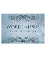 Faithbuilders-Words Of Jesus, 20pcs/Pkt, FAB034