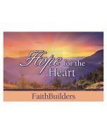 Faithbuilders-Hope For the Heart,20pcs/Pkt, FAB036