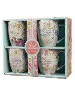 Mug:Ceramic-SET/4, Floral Inspirations, MUGS07