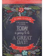 Coloring Card-Today,Going to be Great Day, CLRP01