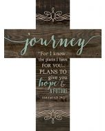 Cross (Wood)-Journey, For I know the Plan, CRO0100