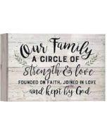 Pallet Decor-Our Family  PNL0583
