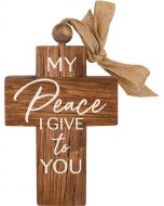 Cross Wood: My Peace I Give To You, CRO0216