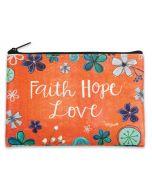 Coin Purse: Faith Hope Love, 81995