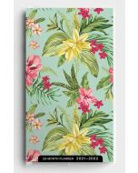 Planner 2021 (28 Month)-Palm and Floral