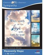 Boxed Cards-Sympathy  Heavenly Hope