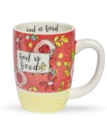 Mug (Sculpted): God Is Good, 76519