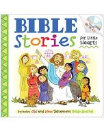 Bible Stories For Little Hearts with CD