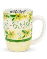 Mug (Sculpted): Thankful Grateful Blessed, 83227