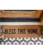 Door Mat-Bless This Home G2489  +