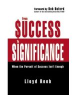 From Success To Significance