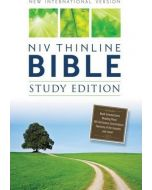 NIV, Thinline Bible, Study Edition, Hardcover