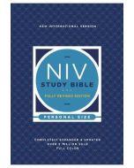 NIV Study Bible Rev Personal Size-SC, Red Ltr