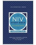 NIV Study Bible  Fully Revised Ed.  Personal Size  Hardcover  Red Letter  Comfort Print