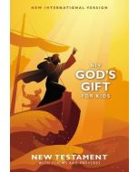 NIV  God's Gift for Kids New Testament with Psalms and Proverbs  Pocket-Sized  Paperback  Comfort Print